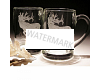 Elk Crystal Beer Mug Set
