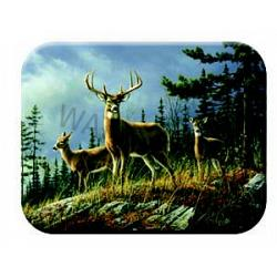 Whitetail Tempered Glass Kitchen Board 1