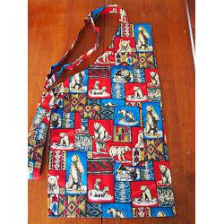 Aztec Bear Chef Apron 1