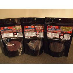 Beef Jerky 3 Flavor Pack FREE SHIP 1