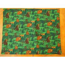 Brown Bear Placemats-Set of 4 1