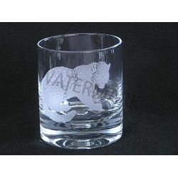 Crystal Double Old Fashion Leopard Glass 1