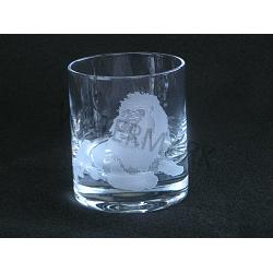 Crystal Double Old Fashion Lion Glass 1