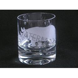 Crystal Safari Rocks Rhino Glass 1