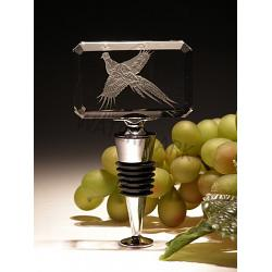 Crystal Pheasant Wine Bottle Stopper 1