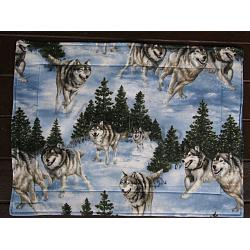 Gray Wolf Placemats 1