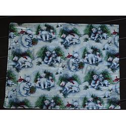 Holiday Bear Placemats 1