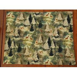 Holiday Whitetail Placemats 1