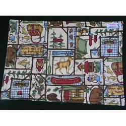Handmade Lodge Placemats-Set of 4 1