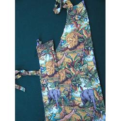 Safari Animals Chef Apron 1