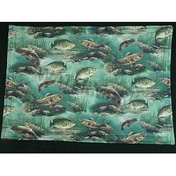 Freshwater Fish Placemats-Set of 4 1