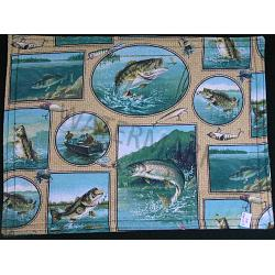 Jumping Fish Placemats-Set of 2 1