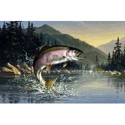 Trout Tufttop Tempered Glass Kitchen Board 1
