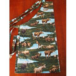 Moose Chef\'s Apron 1
