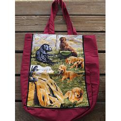 Golden Retriever Tote Bag 1