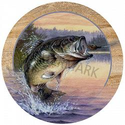 Jumping Bass Coasters 1