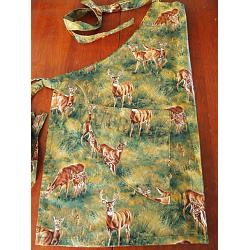 Whitetails in the Meadow Chef Apron 1