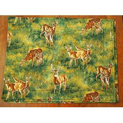 Whitetails in the Meadow Placemats 1