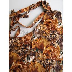 Wildlife Collage Chef Apron 1