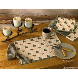 Northern Exposure Napkins- Set of 4 1