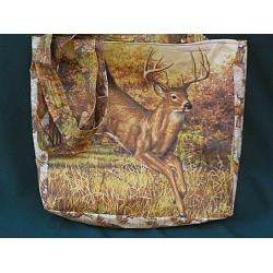 Whitetail Buck Tote Bag 1