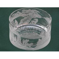 Big Game Wildlife Crystal Bowl 1