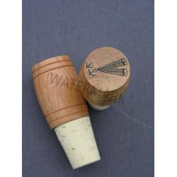 Feather & Tracks Top Wine Stopper 1