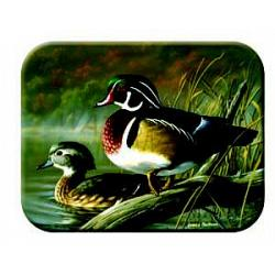 Wood Ducks Tempered Glass Kitchen Board 1