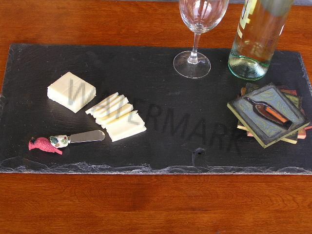 Authentic Slate Placemat And Server 12 X 18 1